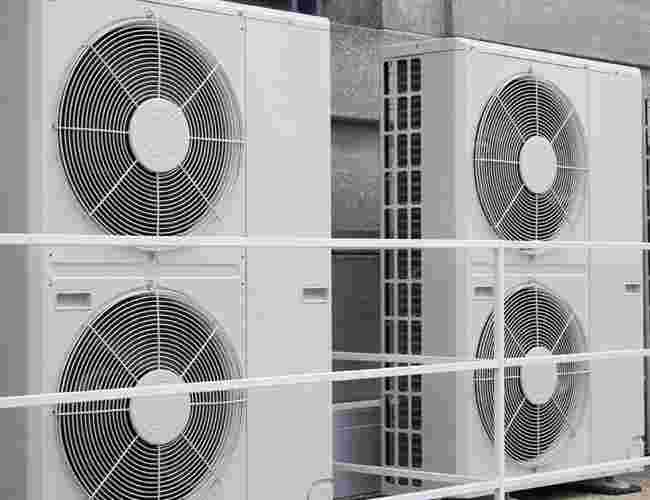 Adcock air conditioning fans